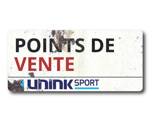 PLAQUE UNK POINTS DE VENTE